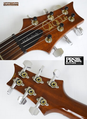 2013 PRS Hollowbody II Ten Top and Back Vintage Burst, Near Mint, Original Hard, $3,199.00