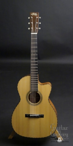 2013 Schoenberg 000-12 fret on SALE Fiddleback Mahogany, Near Mint, Hard