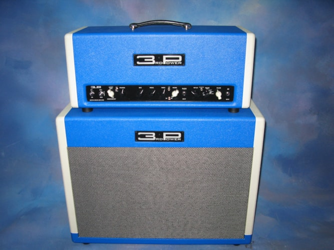 2014 3rd Power British Dream Mk II Blue and White Tuxedo, Near Mint, $2,595.00