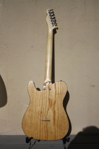 2014 Bear Brown Telecaster Natural, Excellent, Original Hard, Call For Price!