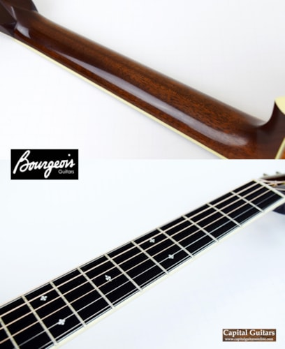 2014 Bourgeois OMS 12-Fret German Spruce, Koa Natural, Excellent, Original Hard, $3,499.00