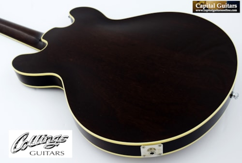 2014 Collings I-35 Deluxe Tobacco Sunburst