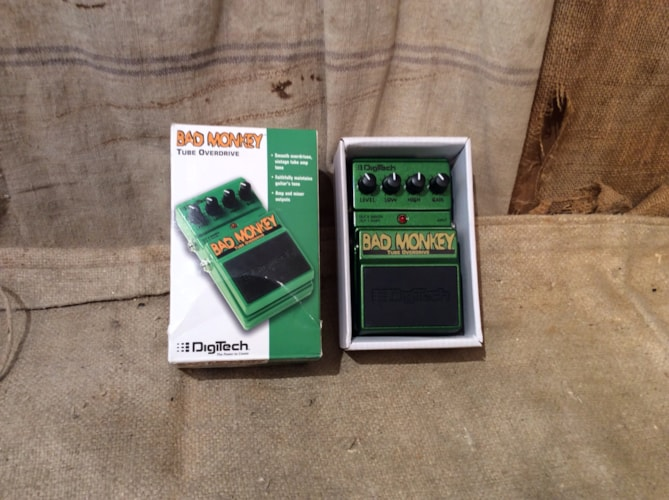 2014 DIGITECH Bad Monkey Tube Overdrive Excellent, $55.00
