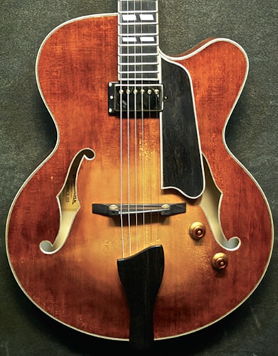 2014 EASTMAN AR 580 ce #5272 Honey Burst, Brand New, Original Hard