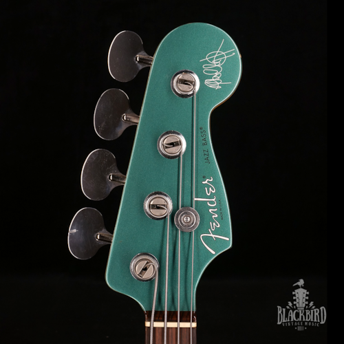 2014 Fender Adam Clayton Signature Jazz Bass U2 Sherwood Green