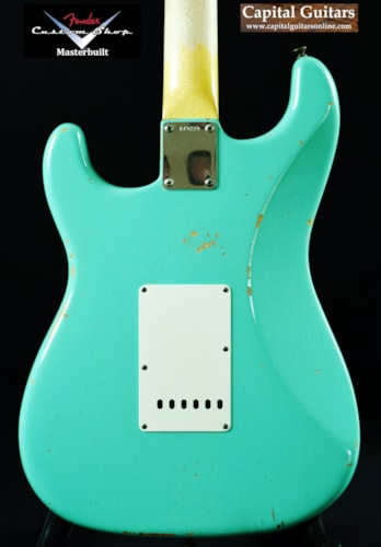2014 Fender Custom Shop Jason Smith Masterbuilt '59 Stratocaster Relic Sea Foam Green, Near Mint, Original Hard