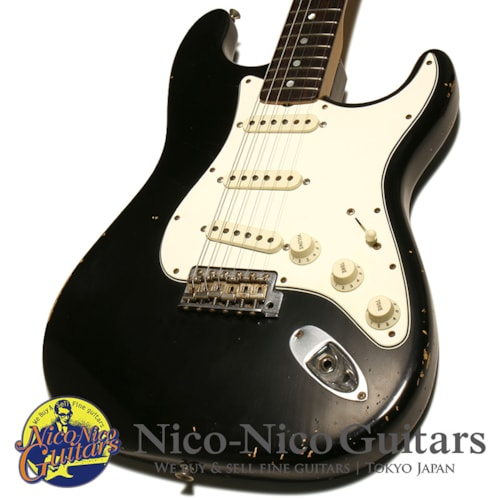 2014 Fender Custom Shop MBS 1966 Stratocaster Relic Master Built by Paul Waller Black/R