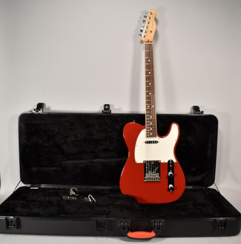 2014 Fender Telecaster FSR Channel Bound Red Finish Electric Guitar W/OHSC