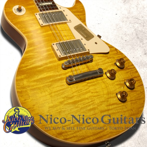 2014 Gibson Custom Shop Historic 1959 Les Paul VOS Lemon Drop