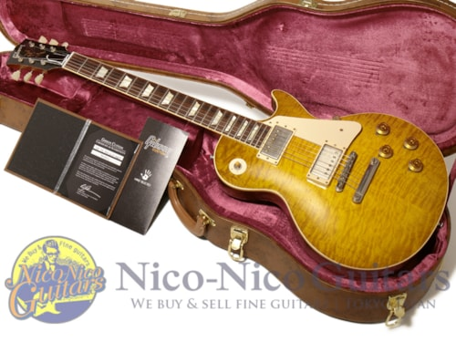 2014 Gibson Custom Shop Historic 1959 Les Paul Heavily Aged Hand Selected Primary Burst