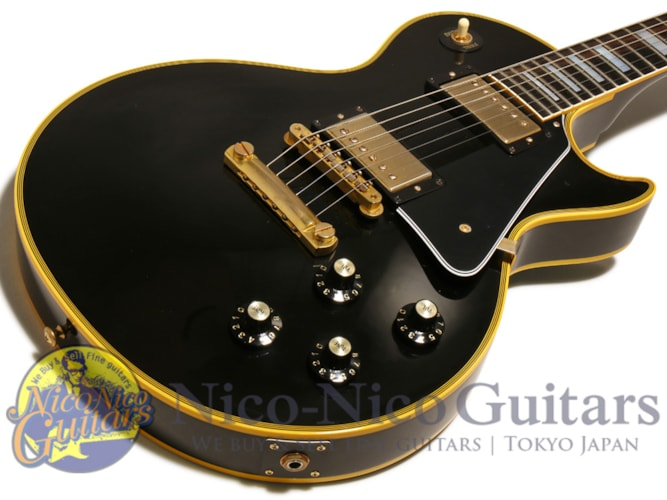 2014 Gibson Custom Shop Historic 1968 Les Paul Custom VOS  Ebony Black, Excellent, Original Hard, Call For Price!