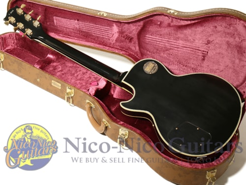 2014 Gibson Custom Shop Historic Collection 1957 Les Paul Custom w/3Pickups VOS Ebony Black