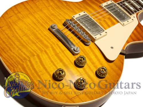 2014 Gibson Custom Shop Historic Collection 1959 Les Paul VOS Orange Sunset Fade