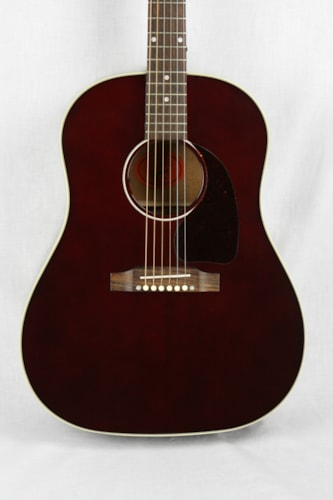 2014 Gibson Custom Shop J45 Wine Red Limited Edition Wine Red, Excellent, Original Hard, $1,350.00