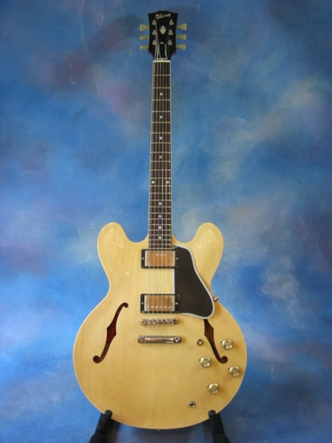 2014 Gibson ES-335 '60 Reissue 50th Anniversary VOS Natural, Near Mint, Original Hard