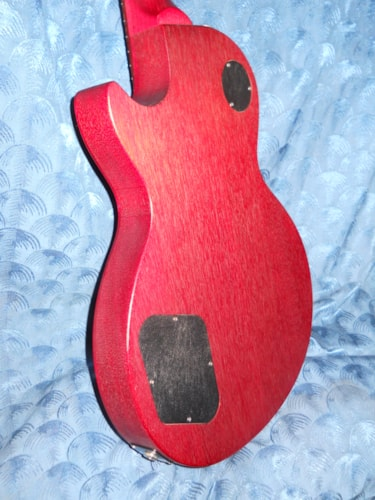 2014 Gibson Les Paul Jr. Faded Cherry Electric guitar.