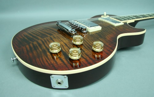 2014 Gibson Les Paul Rootbeer Flametop Etune Rootbeer, Mint, Original Hard, $2,295.00