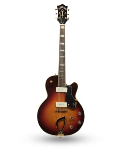 2014 Guild M-75 Aristocrat Newark St. Antique Sunburst, Brand New, Original Hard