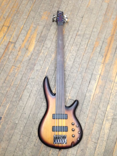 2014 Ibanez SRF705 Sunburst, Excellent, Hard