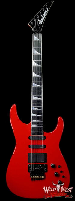 2014 Jackson 2014 Jackson Custom Shop Limited Edition 30th Anniversary Mike Shannon Masterbuilt Soloist HSS EMG Ferrari Red