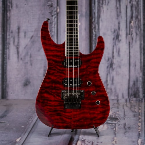 2014 Jackson Pro Series Soloist SL2Q, Transparent Red Very Good $599.99