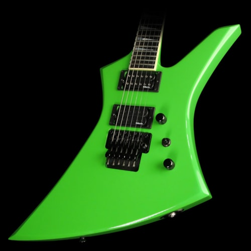 2014 Jackson Used 2014 Jackson Custom Select KE2 Kelly Electric Guitar Kawasabi Green Excellent, $2,099.00