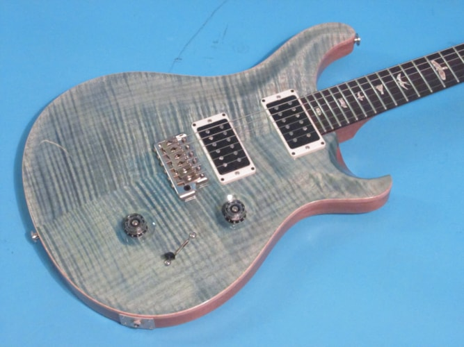 2014 Paul Reed Smith Custom 24 Aquableux, Near Mint, Original Hard