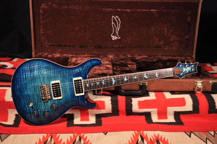 "2014 Paul Reed Smith DGT Private Stock ""Turquoise"", Excellent, Original Hard"