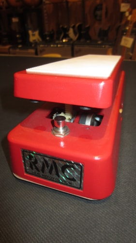 2014 Real McCoy Custom RMC5 Wah Wah Pedal Red & White, Excellent, $249.00