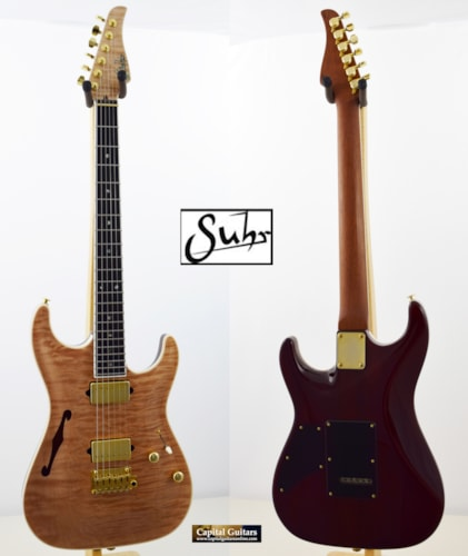 2014 Suhr Standard Arch Top, Even C Med Neck, Ebony FB, Stainless Steel Frets, 7.2 pounds
