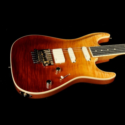 2014 Suhr Used 2014 Suhr Standard Carve Top Electric Guitar Trans Honey/Cherry Excellent, $3,999.00