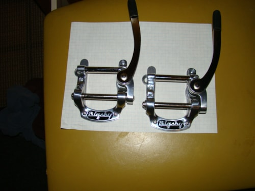 2015 BIGSBY Non Evasive Tremelo (Gibson With Stop Tailpiece) Chrome