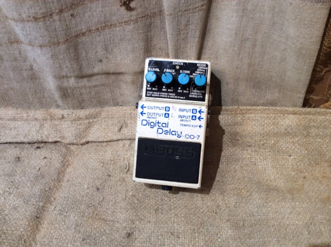 2015 BOSS DD-7 Good, $100.00