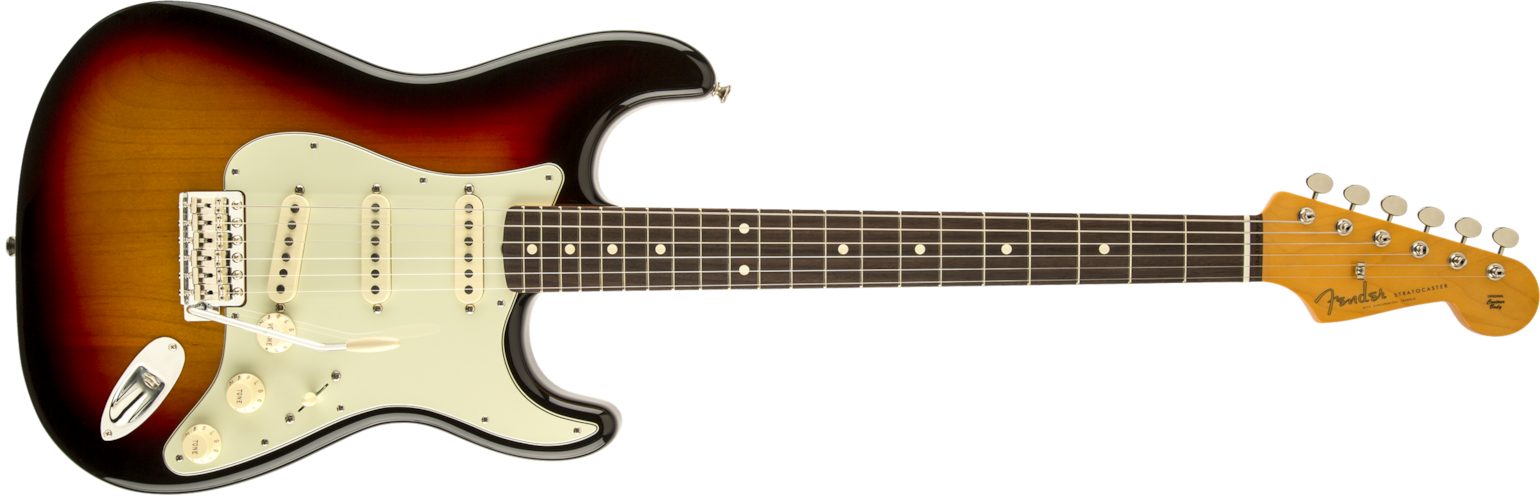2015 Fender Classic Series '60s Stratocaster Lacquer 3-Color Sunburst, Brand New, Original Hard, $832.99