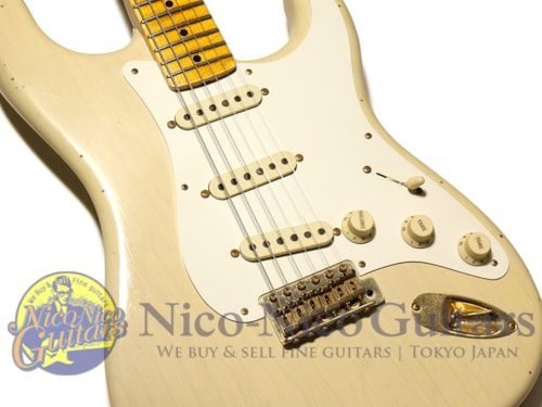 2015 Fender Custom Shop 20th Anniversary Relic Stratocaster White Blonde