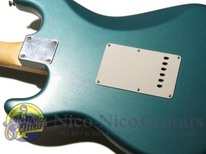 2015 Fender Custom Shop Masterbuilt '66 Stratocaster Closet Classic by Yuriy Shishko Ocean Turquoise Metallic, Excellent, Original Hard, $4,070.00