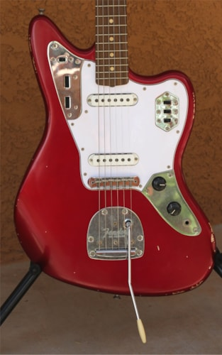 2015 Fender Road Worn '60s Jaguar Candy Apple Red, Brand New, $924.99