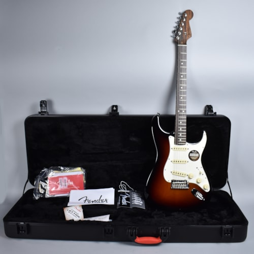 2015 Fender® Stratocaster® American Standard Limited Edition Sunburst, Mint, Original Hard, $1,499.99