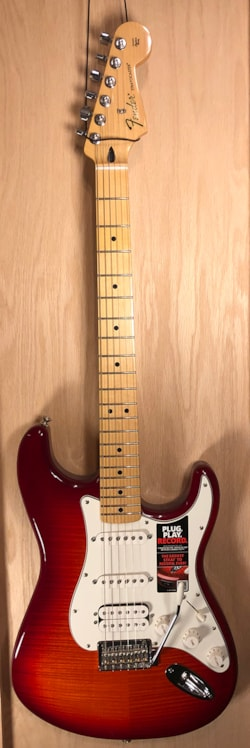 2015 Fender Stratocaster HSS Plus Top with iOS Connectivity