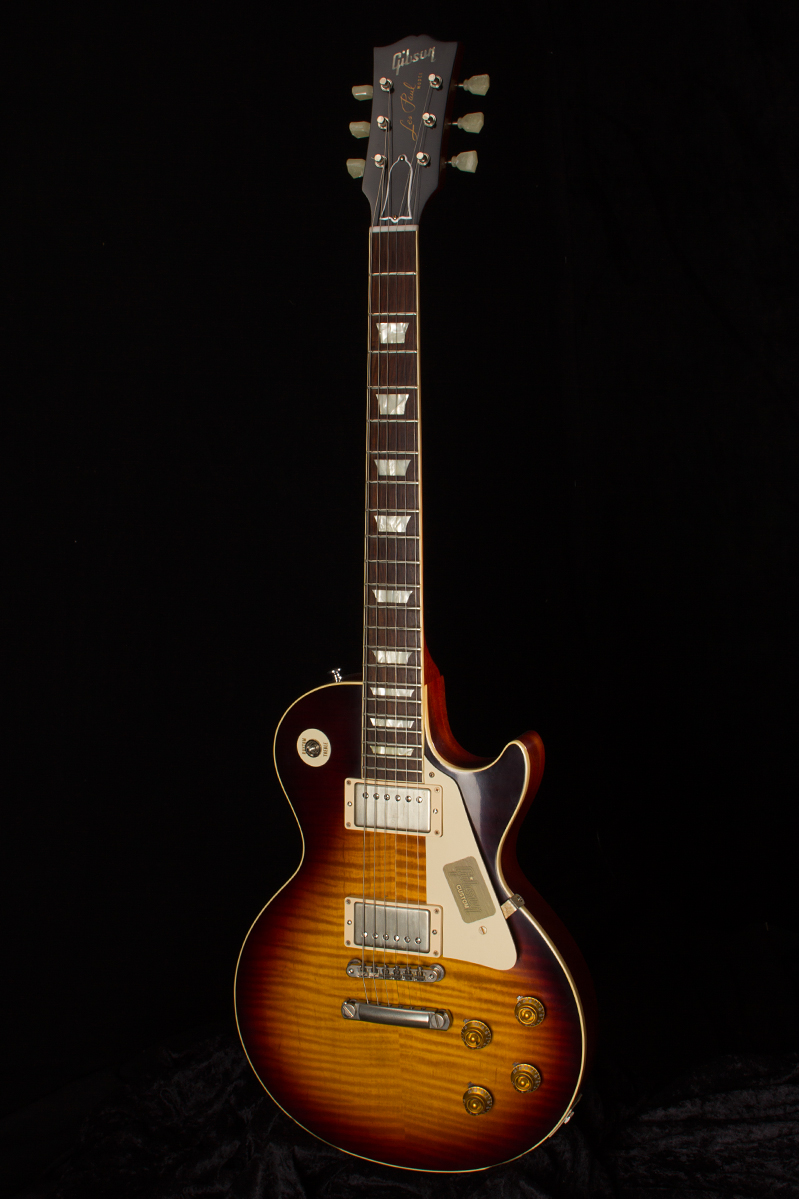 2015 Gibson 1959 Les Paul Reissue Vos Faded Tobacco Guitars Guitar Tone Capacitors Also Wiring Further Electric Solid Body Rudys Music