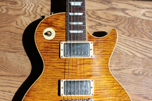 2015 Gibson '59 Les Paul Tom Murphy Painted & Aged PETER GREEN! cc1 True Historic 1959 R9