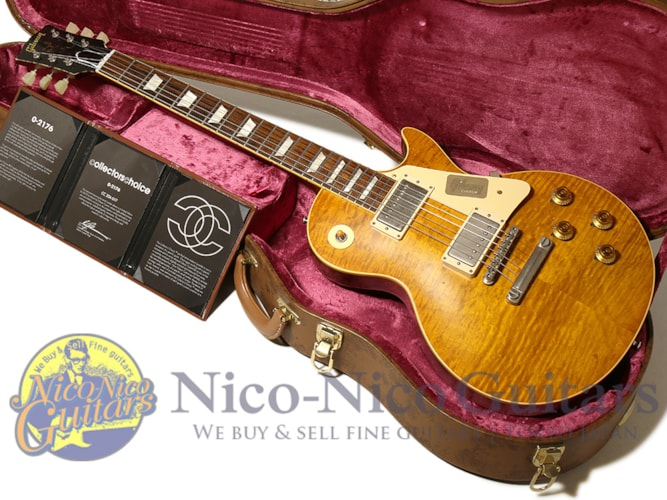 2015 Gibson Custom Shop Collectors Choice #33 Jeff Hanna 1960 Les Paul Aged Brown Lemon Sunburst
