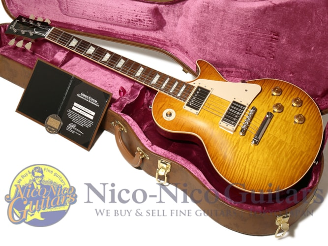 2015 Gibson Custom Shop Historic Select 1959 Les Paul Vintage Gloss  Washed Cherry, Excellent, Original Hard