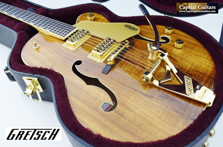 2015 Gretsch Nashville 6120 Koa Limited