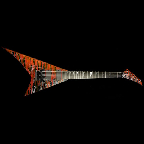 2015 Jackson Used 2015 Jackson Custom Select Masterbuilt Pat McGarry RR-7 7-String Electric Guitar Cracked Mirror Excellent, $2,799.00