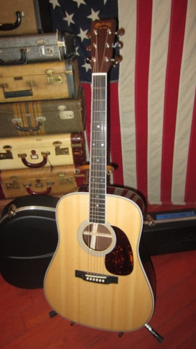 2015 Martin HD-35 50th Anniversary Natural Spruce Top, Excellent, Original Hard, $2,999.00