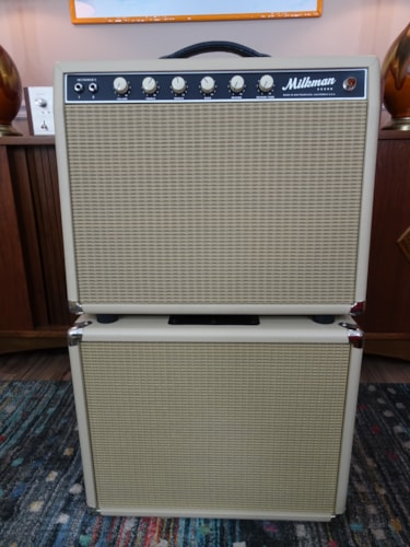 ~2015 Milkman Pedal Steel Mini Blonde with 1x12 Matching Cabinet