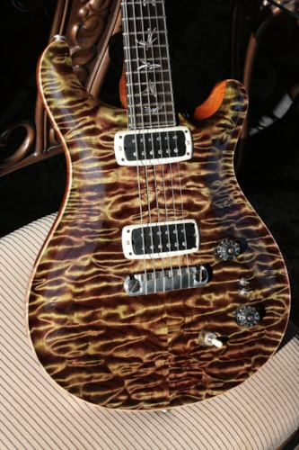 2015 PRS Private Stock GRAPHITE Paul's Guitar! QUILT/African Ebony/Olive Paul Reed Smith