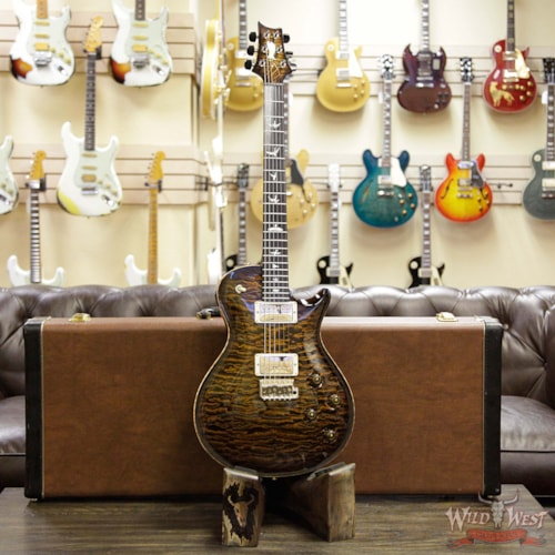 2015 Paul Reed Smith - PRS PRS Private Stock 6049 Singlecut Tremolo Brazilian Rosewood Neck Ebony Board Tiger Eye Smoked Burst Tiger Eye Smoked Burst, Near Mint, $6,999.00