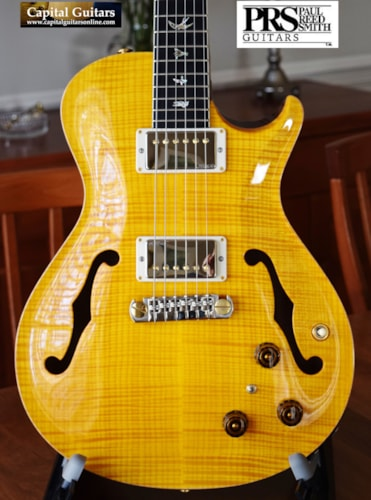2015 Paul Reed Smith SC Hollowbody II Artist Vintage Yellow
